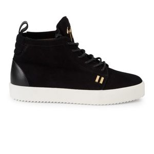 giuseppe zanotti • NEW • suede high tops